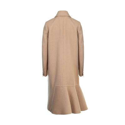 unbalance detail long coat